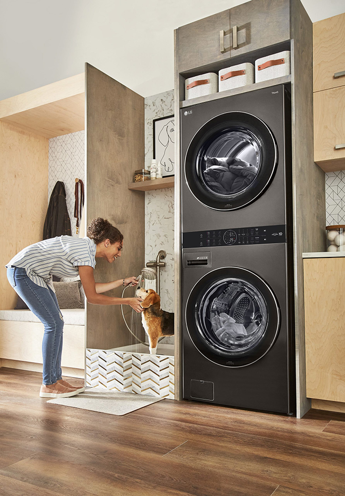 LG Electronics USA Wash Tower